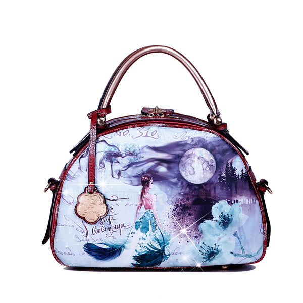 Fairy Tale Women Handbag with Shoulder Strap - Brangio Italy Collections