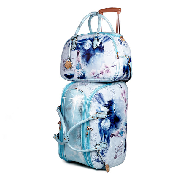 Fairy Tale Overnight Bag Duffle Set Weekender Bags for Women - Brangio Italy Co.