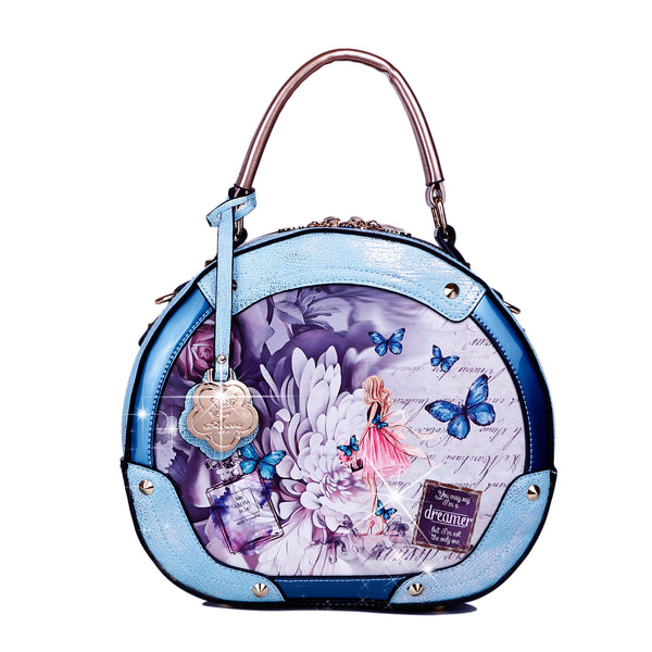 Dreamerz Vintage Fashion Handbag Ball Bag - Brangio Italy Collections