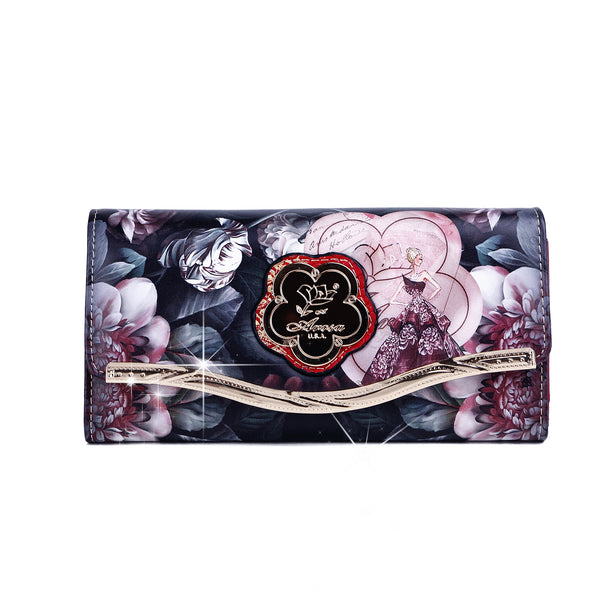Queen Clutch Women Luxury Wallet Cell Phone Clutch - Brangio Italy Co.