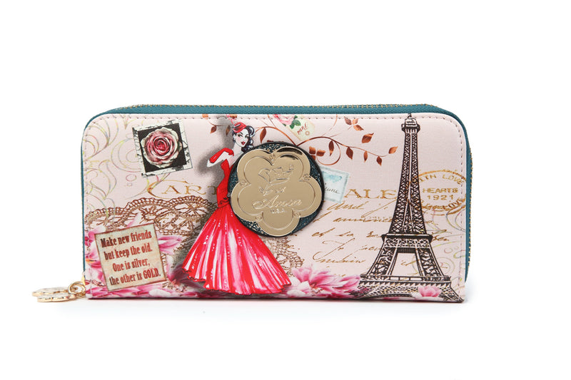 Lady Luck Multiple Pocket Women's Wallet - Brangio Italy Collections