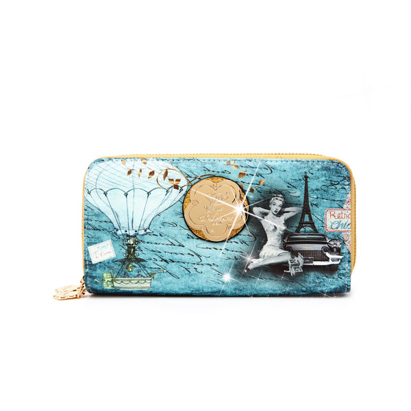 Retro V Womens Wallet - Brangio Italy Co.