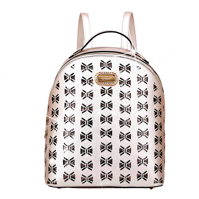 Butterfly Celestial Star Crystal Backpack for Women - Brangio Italy Collections