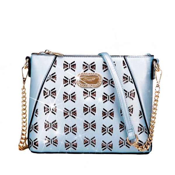 Butterfly Celestial Star Crossbody Satchel - Brangio Italy Collections