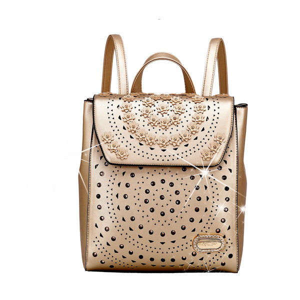 Rosè Twinkle Star Affordable Backpack for Women Fashion - Brangio Italy Collections