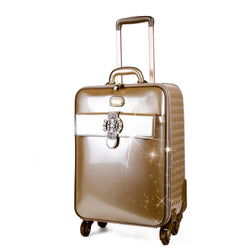 Queen's Crown Suitcase Getaway Travel Luggage Spinner Wheels - Brangio Italy Collections