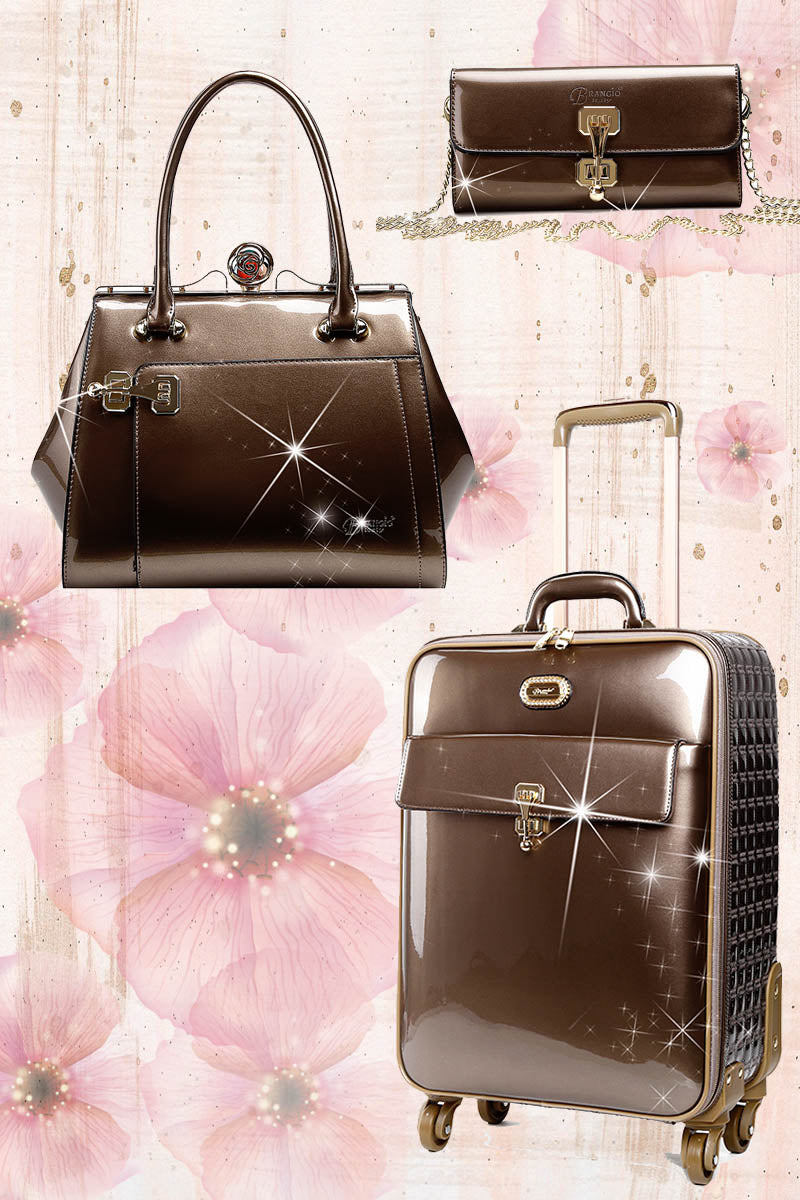 Euro Moda 3PC Set | Light Weight Luggage - Brangio Italy Collections