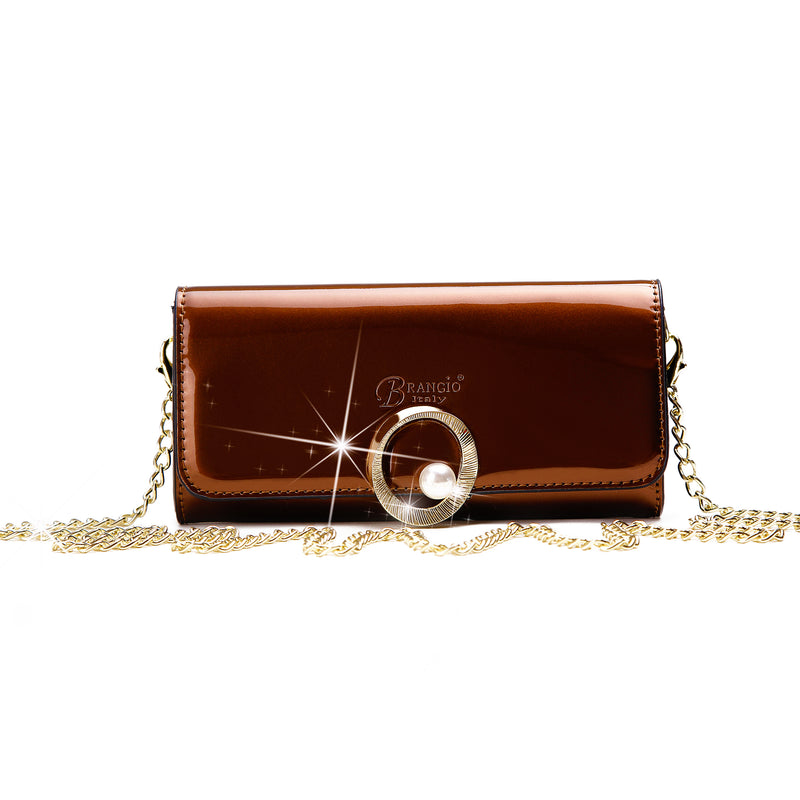 Moonshine Crossbody Women Wallet Clutch - Brangio Italy Co.
