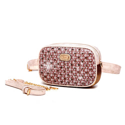 Twinkle Star Faux Leather Fanny Waist Bag Pack for Women - Brangio Italy Co.