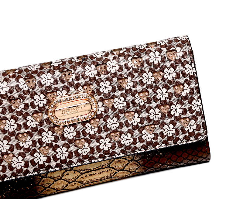 Twinkle Faux Leather Hand Made Wallets for Women - Brangio Italy Co.
