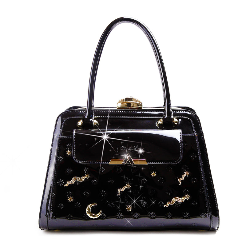 Meteor Sky Designer Crystal Handbags for Women - Brangio Italy Co.