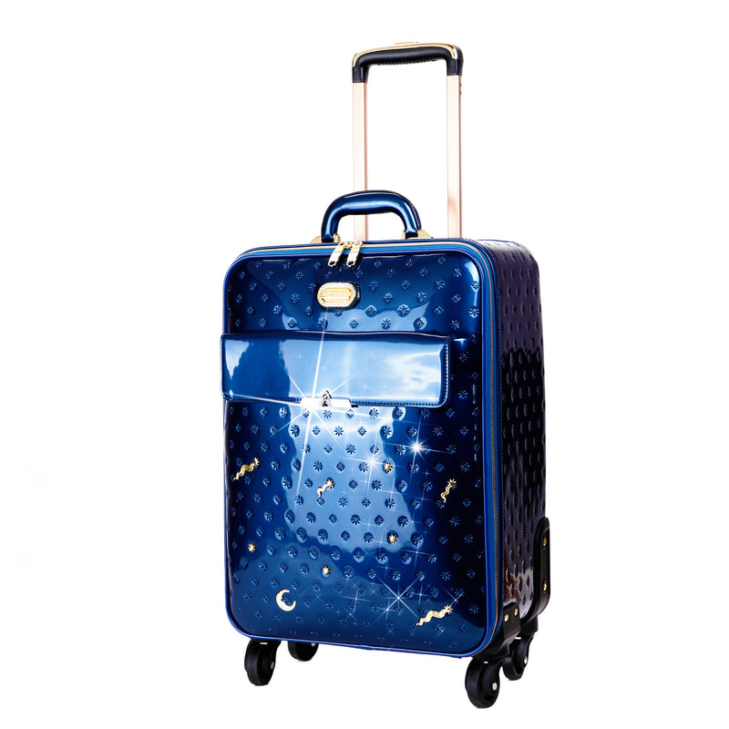 Meteor Sky Underseat Travel Luggage with Spinners - Brangio Italy Collections