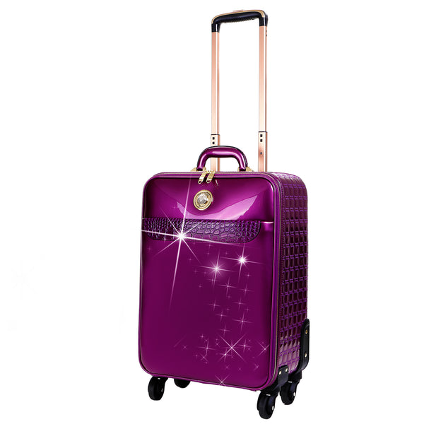 Stunnin' Womens Luggage Bag Set with Spinner Wheels - Brangio Italy Co.