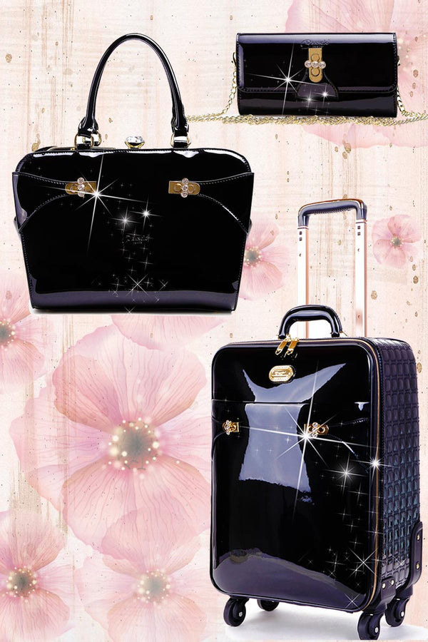 Tri-Star Matching Signature Luggage Sets with Spinner Wheels Prime Day - Brangio Italy Collections