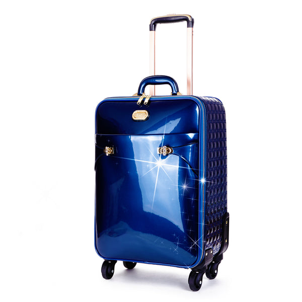 Tri-Star Durable Flexible Carry on Luggage with Spinning Wheels Suitcase - Brangio Italy Co.