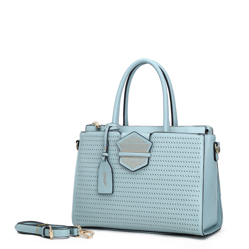 Chic Queen Handmade Medium Satchel - Brangio Italy Collections