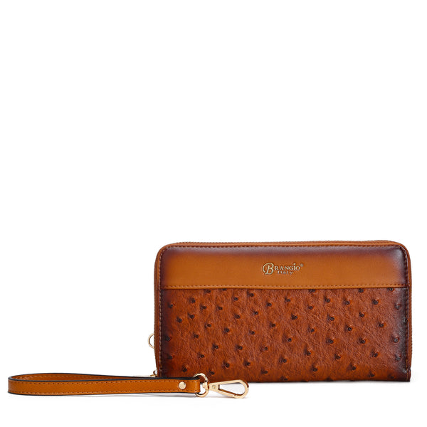 Croquilla Handmade Wristlet Wallet with Multiple Card Pockets - Brangio Italy Collections