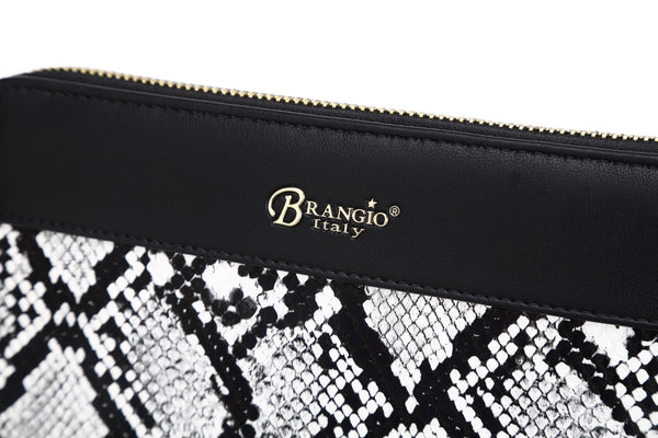 Serpa Handmade Wristlet Wallet - Brangio Italy Collections
