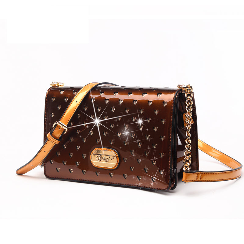 Starz Art Retro Stains & Damage Resistant Womens Crossbody Clutch - Brangio Italy Collections