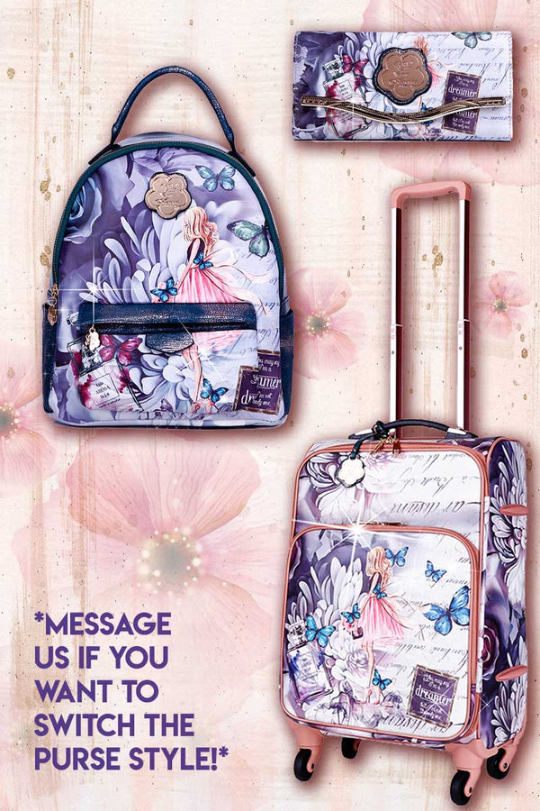 Dreamerz 3PC Set | Backpack & Travel Carry On Bags for Women - Brangio Italy Collections