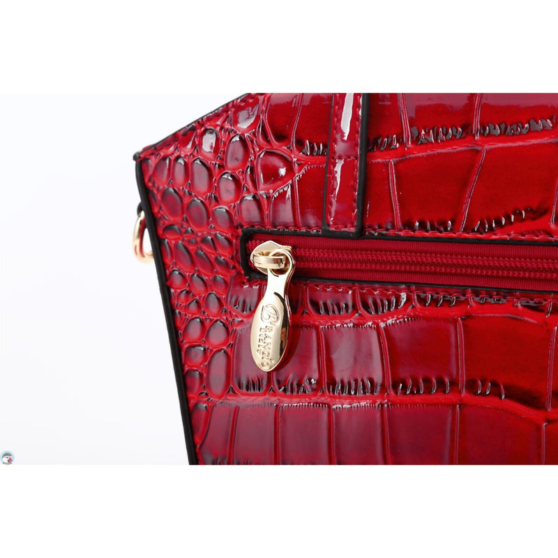 Croc Madame Crossbody Bag for Women - Brangio Italy Collections