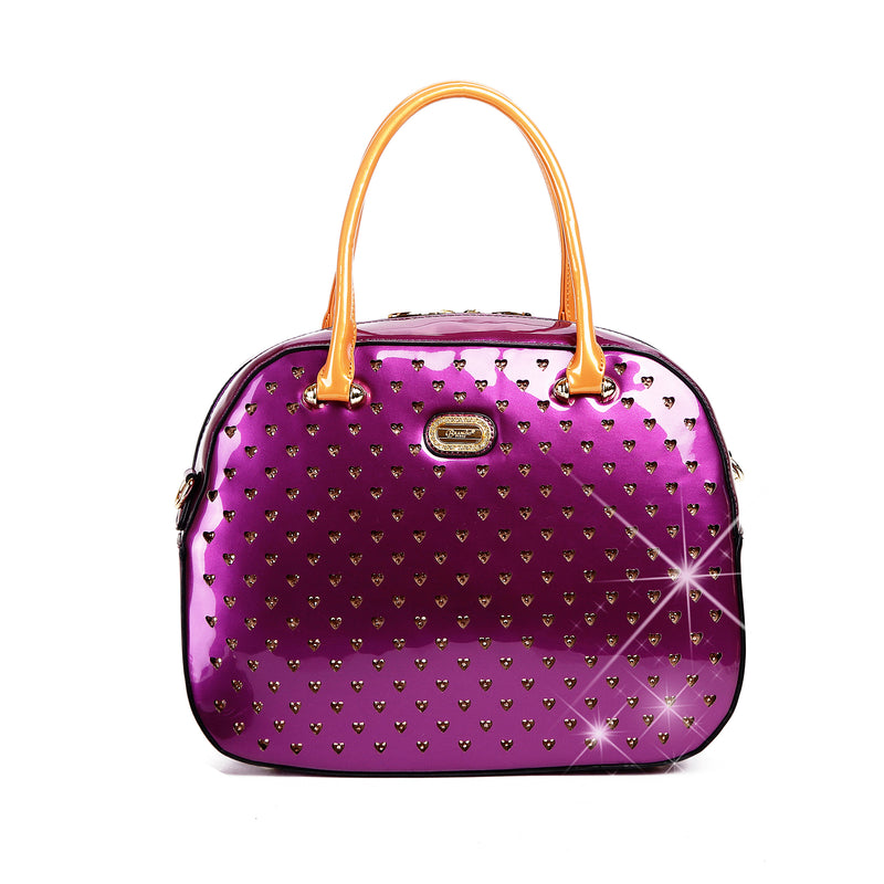 Starz Art Retro Crystal Overnight Latch On Bag - Brangio Italy Collections