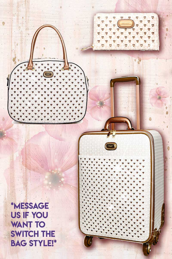 Galaxy Stars 3PC Set | Leather Bags Luggage Set on Clearance - Brangio Italy Collections