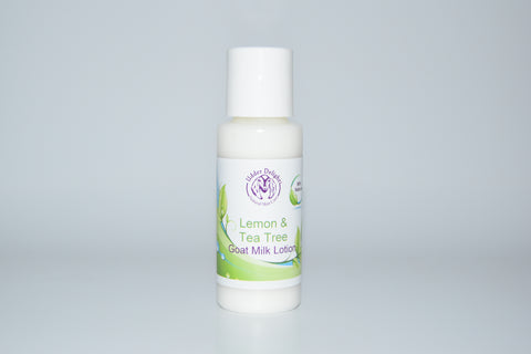 Lemon & Tea Tree Lotion (2 oz.)