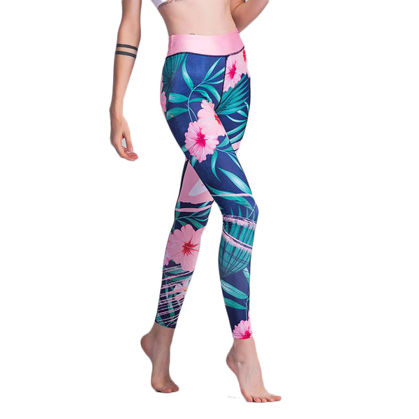 Tropicana Workout Leggings