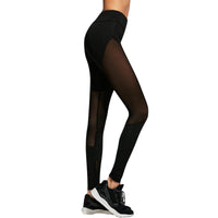 Sheer Panelled Leggings