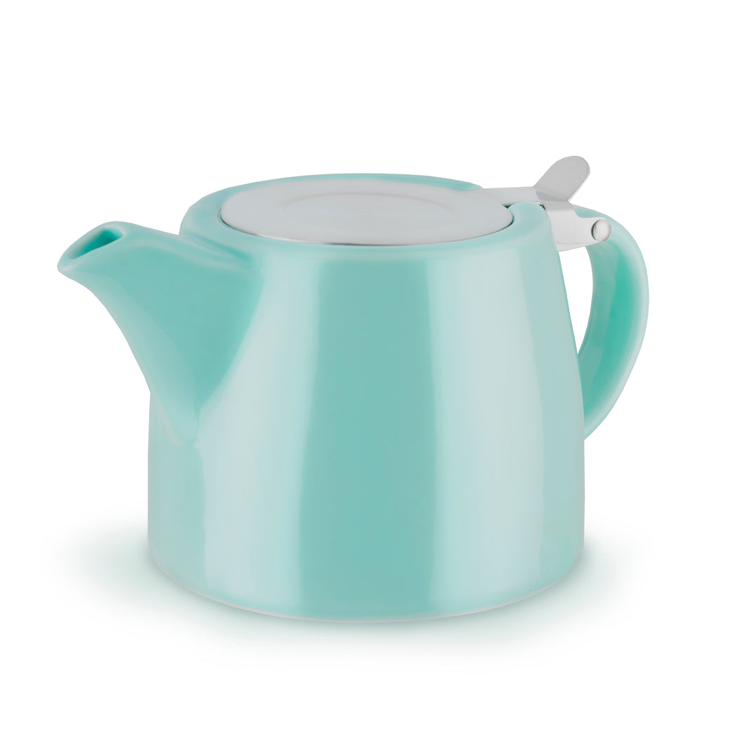 Harper Ceramic Teapot & Infuser in Blue by Pinky Up - Long Dog Tea Co.