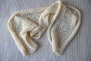 Alpaca Knitted Wraps