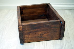Reclaimed Timber Box