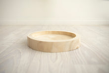 Natural Wooden Cake Tray