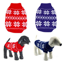 Festive Dog Sweater - Go Pugs