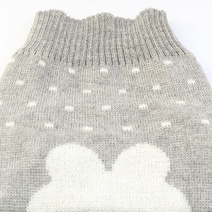 Cartoon Rabbit Gray Sweater For Small Dogs(XS-XL) - Go Pugs