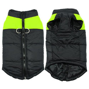 (Green) Dog Winter Jacket (S-5XL) - Go Pugs