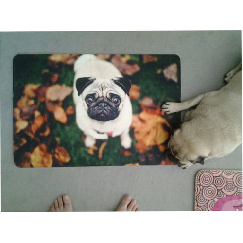 Pug Animal Print Thin Floor Mat - Go Pugs