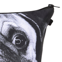 Pug Face 3D Print Pencil Pouch/Cosmetic Pouch/Organizer - Go Pugs