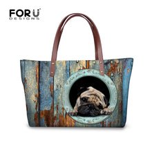 Pug In Bag Shoulder Bag - Go Pugs