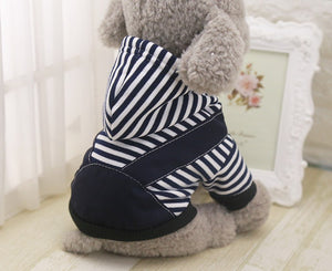 Handsome Stripe Hoodie Sweater XS-7XL - Go Pugs