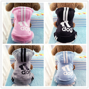 Hoodie Dog Sweater (XS -XXL) 6 Colors - Go Pugs