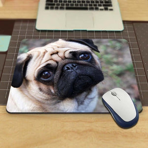 Pug Face Anti-slip Mousepad(3 designs) - Go Pugs