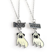 2PCS Set Best Friend Pug Pendant - Go Pugs