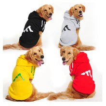 Bone Design Hoodie Jacket For Large Dogs (2XL-9XL) - Go Pugs
