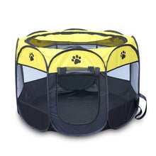 Easy Operation Octagonal Portable Folding Pet tent/ Dog House/ Cage/ Playpen.(8 colors) - Go Pugs