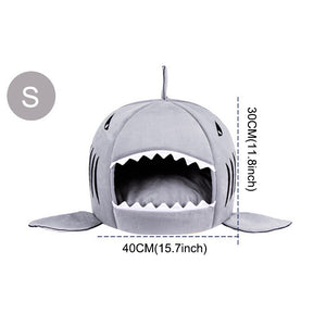 Soft Shark Dog House for Pets - Go Pugs
