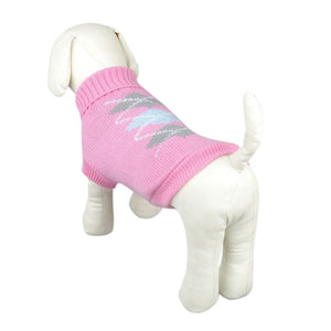 Knitted dog sweater - Go Pugs