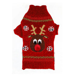 X'mas Reindeer sweater (XXS-XXL) (2 colors) - Go Pugs