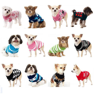 XS-XXL  Assorted Puppy Knit Sweaters (13 selections) - Go Pugs